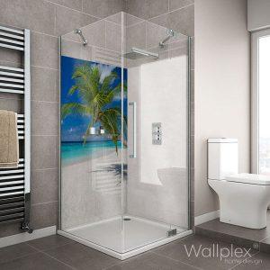 wallplex fürdőszobapanel