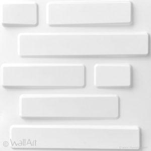 wallart bricks walland