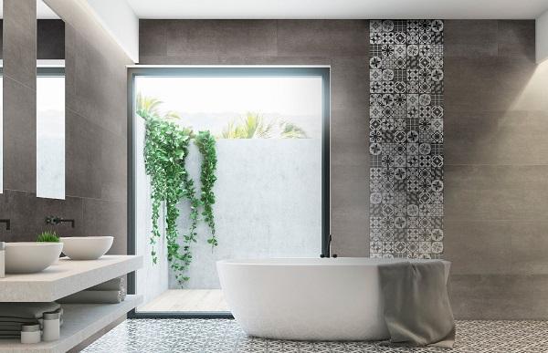 easy cover pro black falburkolopanel fürdőszobába