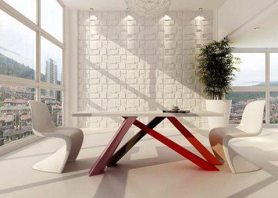 Manhattan 3D PVC falpanel