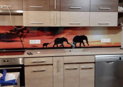 wallplex konyhappanel safari