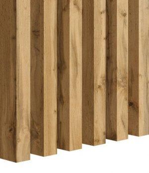 Lamella falburkolat - Natural Wotan Oak